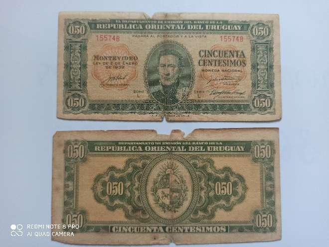 Imagen año 1939 de Uruguay