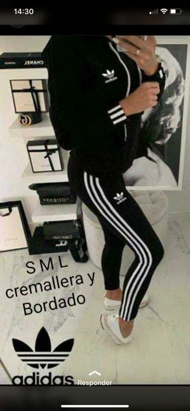 Imagen producto Chándal adidas chica 9