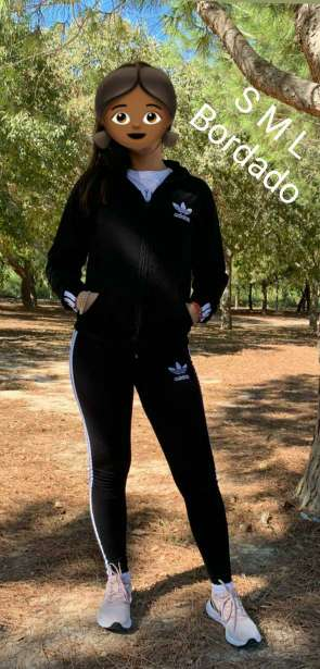 Imagen producto Chándal adidas chica 10