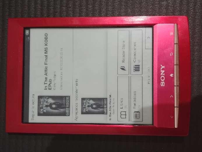 Imagen ebook Sony PRS-T1 COMO NUEVO
