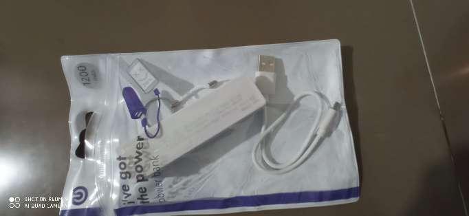 Imagen producto Cargador externo / power bank en su funda 1
