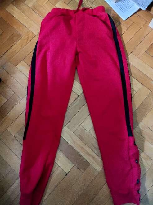 Imagen Pantalones chándal rojos