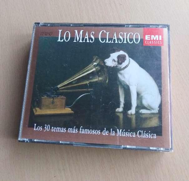 Imagen Doble Cd de música clásica.