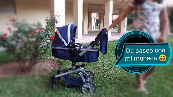 Imagen Cochecito de muñecas 2 en 2. Carrito.