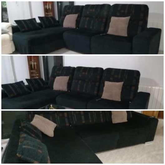 Imagen Oportunidad sofa 3 plazas con cheslon urge vender negociable