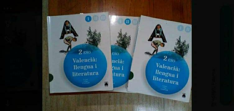 Imagen Libros Valenciano secundaria