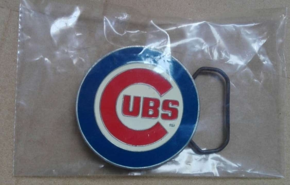 Imagen Hebilla del Chicago Cubs Béisbol.