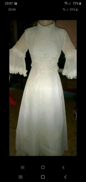 Imagen vestido novia vintage