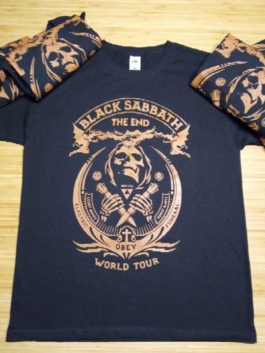 Imagen Camiseta Black Sabbath