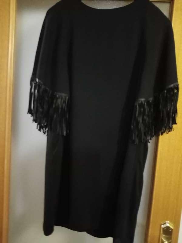 Imagen Vestido talla M con flecos