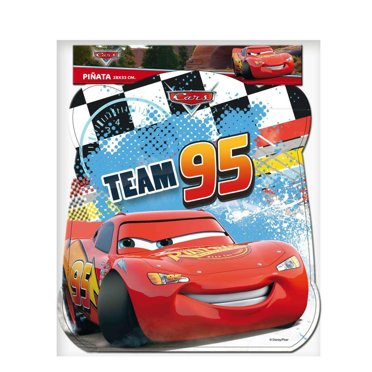 Imagen Piñata Basic Cars Disney