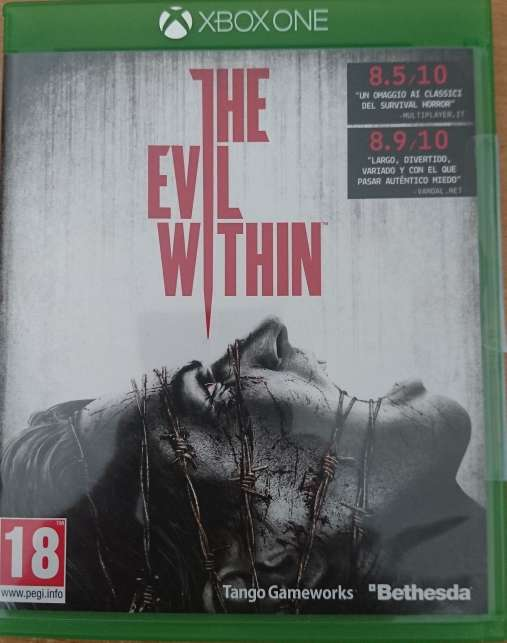 Imagen THE EVIL WITHIN de xbox one