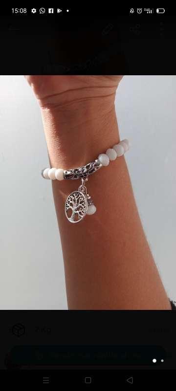 Imagen pulsera blanca