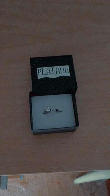 Imagen  anillo de plata