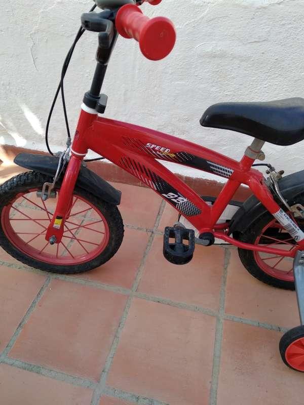 Imagen bicicleta niño