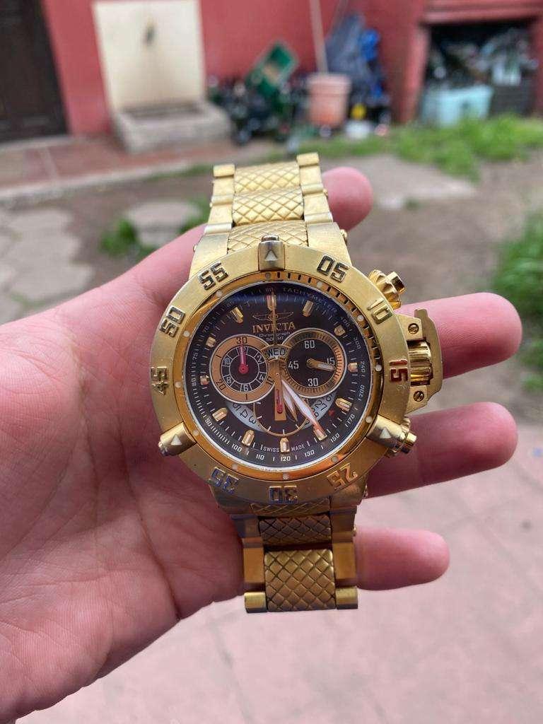 Imagen Vendo reloj invicta subaqua noma 3 gold
