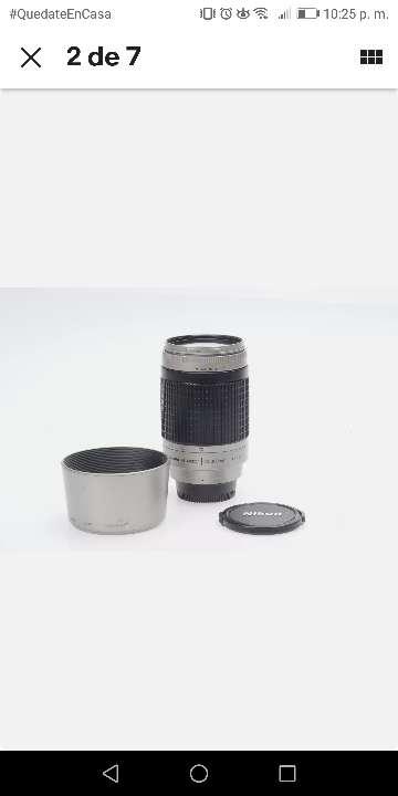 Imagen producto Nikon AF Nikkor 70-300 mm 1:4-5.6 g lente de zoom/Silver 2