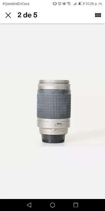 Imagen producto Nikon AF Nikkor 70-300 mm 1:4-5.6 g lente de zoom/Silver 5
