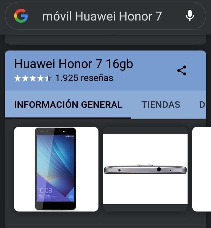 Imagen Huawei honor 7