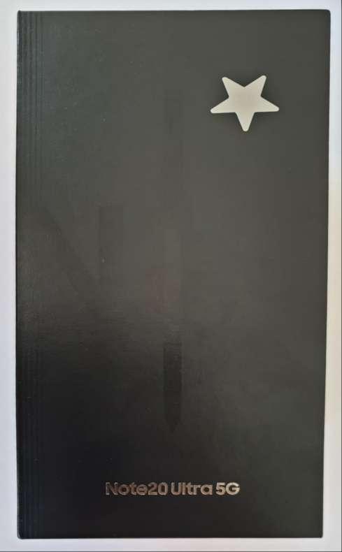 Imagen Samsung Galaxy note 20 ultra negro, 256g.
