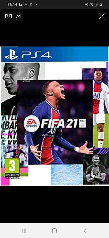 Imagen Fifa 21 ps4 juego digital