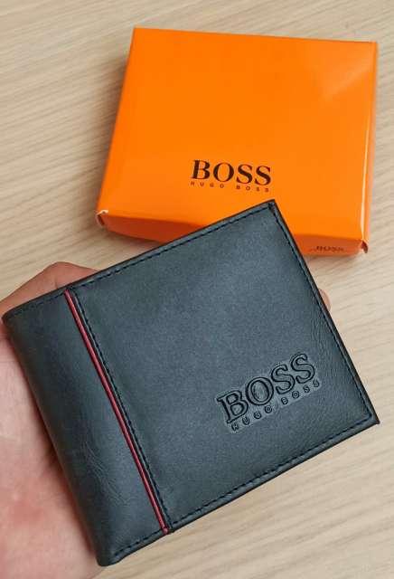 Imagen producto Billetera Hugo Boss En Cuero  2