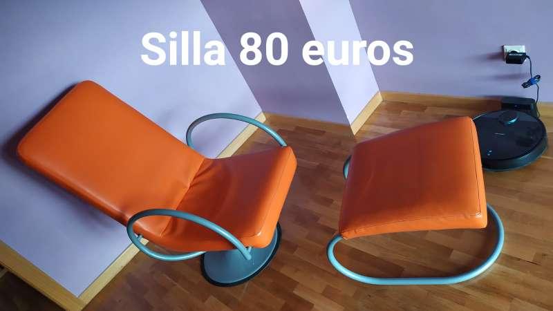 Imagen producto Silla naranja  2