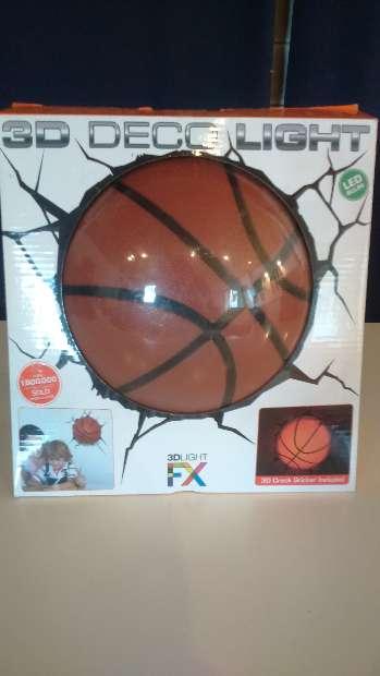 Imagen Lampara 3d baloncesto