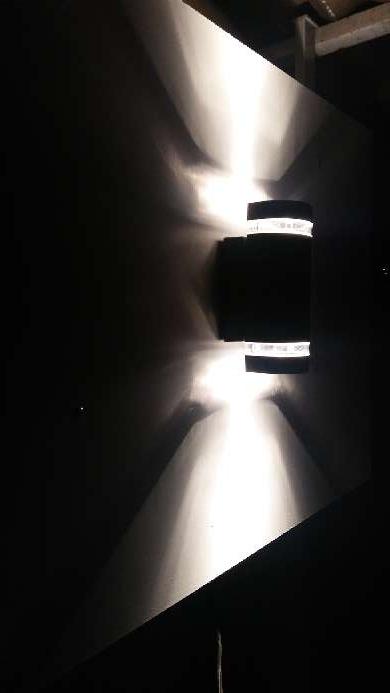 Imagen Aplique doble salida luz