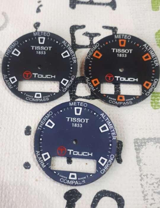 Imagen Lote 4 Esferas Tissot T-Touch originales