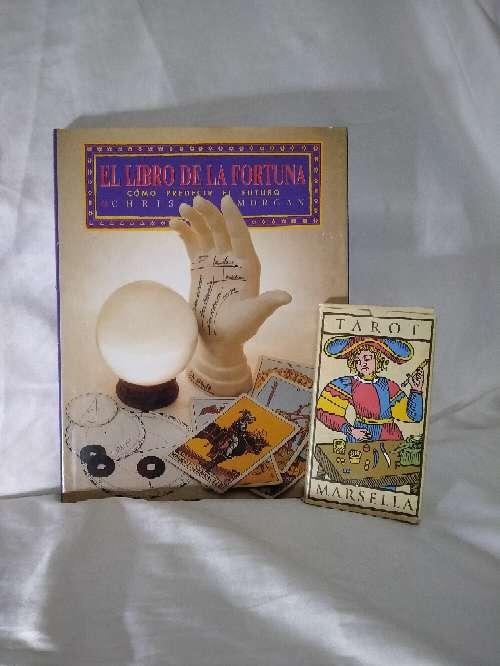 Imagen producto Tarot con libro y cartas magia blanca 1
