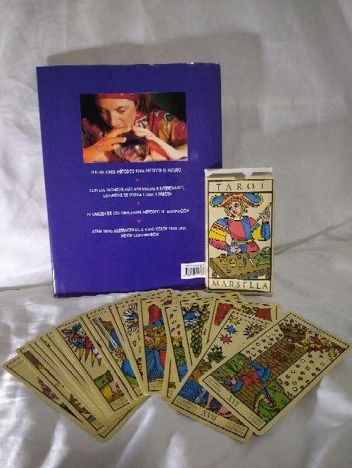 Imagen producto Tarot con libro y cartas magia blanca 2