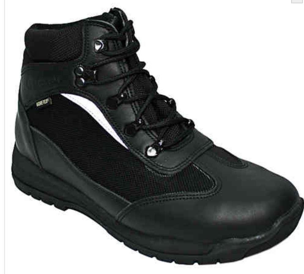 Imagen botas robusta negras