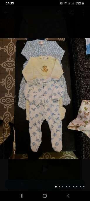 Imagen Ropa bebé antigua 3/12m