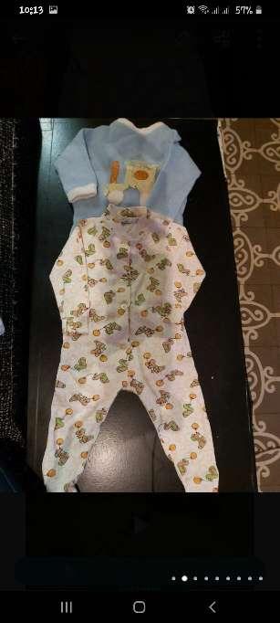 Imagen producto Ropa bebé antigua 3/12m 2