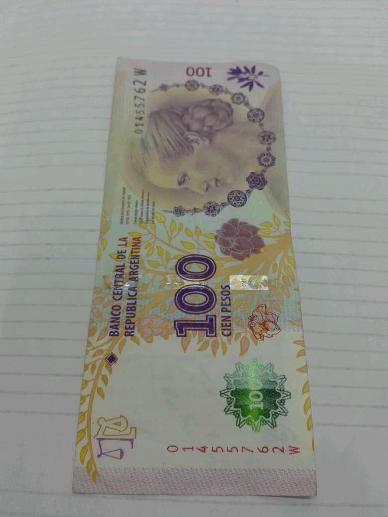 Imagen Billete Argentina 100$ Evita