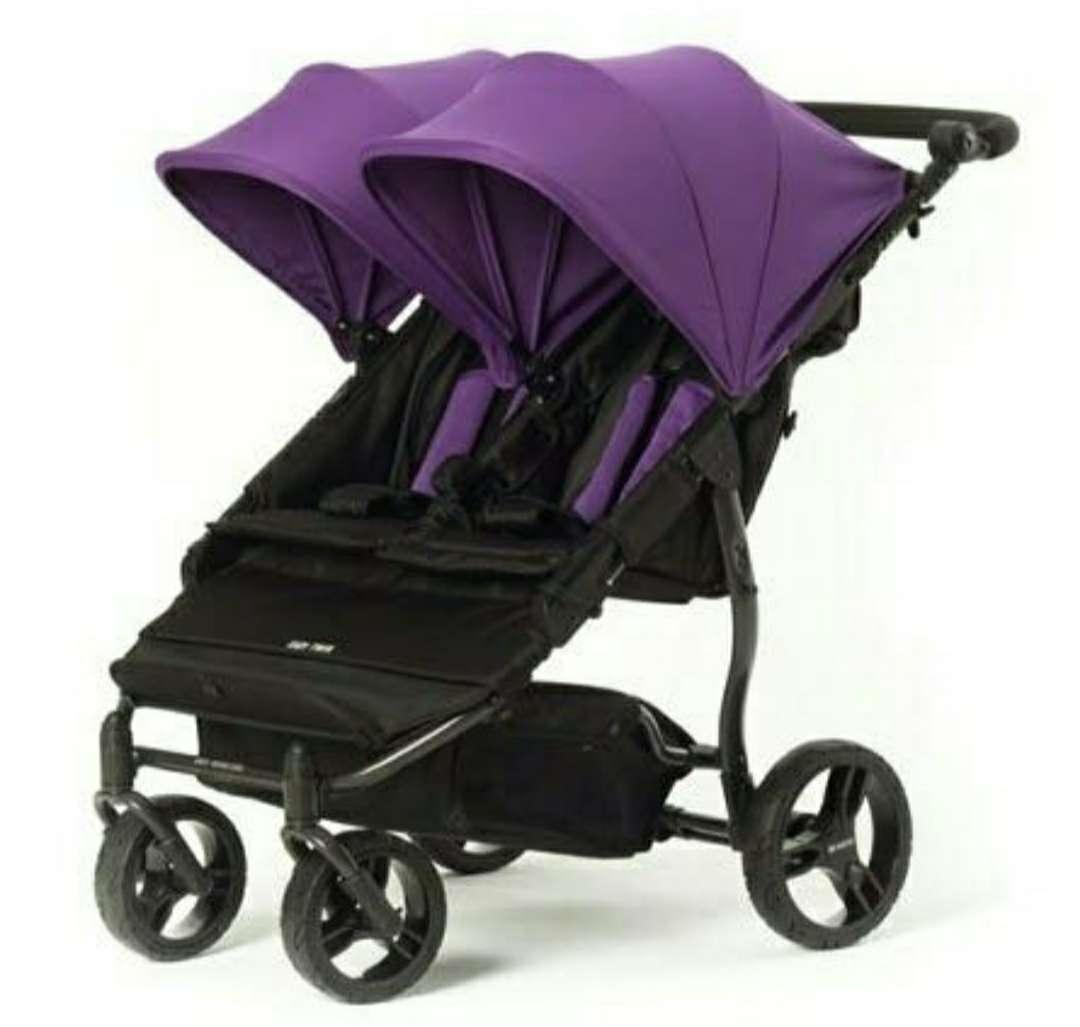 Imagen producto Silla - carro de paseo gemelar Baby Monsters 1