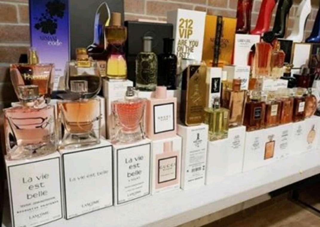 Imagen cosmética y perfumes