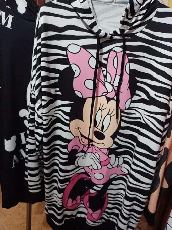 Imagen sudadera vestido Miki mouse