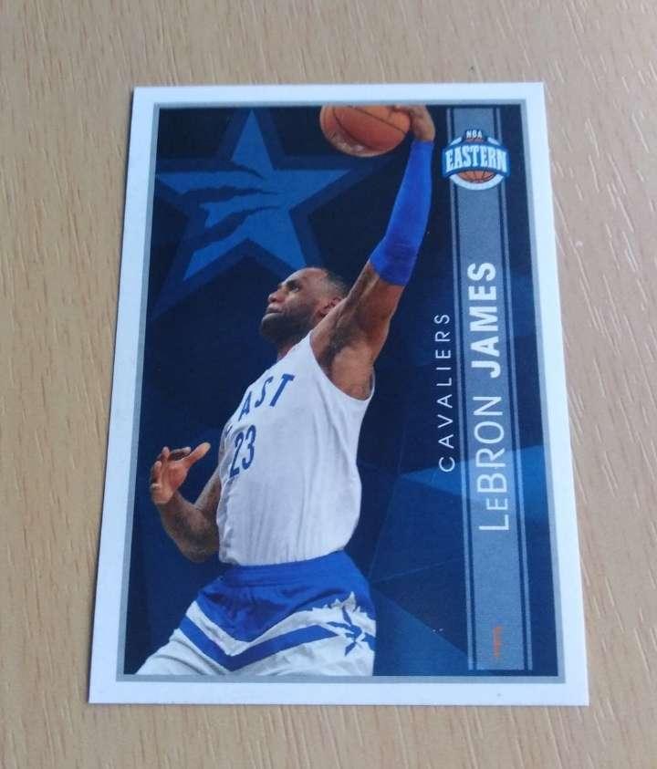 Imagen Lebrón James card NBA.