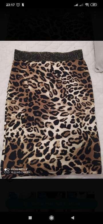 Imagen falda leopardo