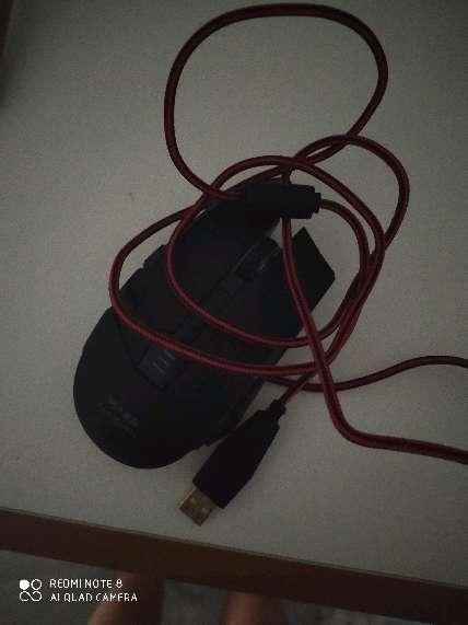 Imagen ratón y teclado