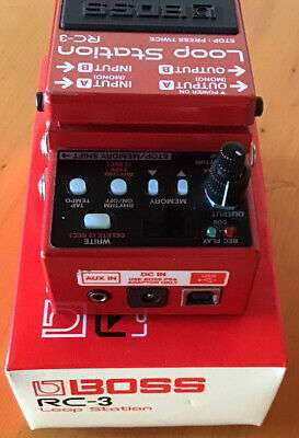 Imagen producto Pedal looper BOSS Rc-3 2
