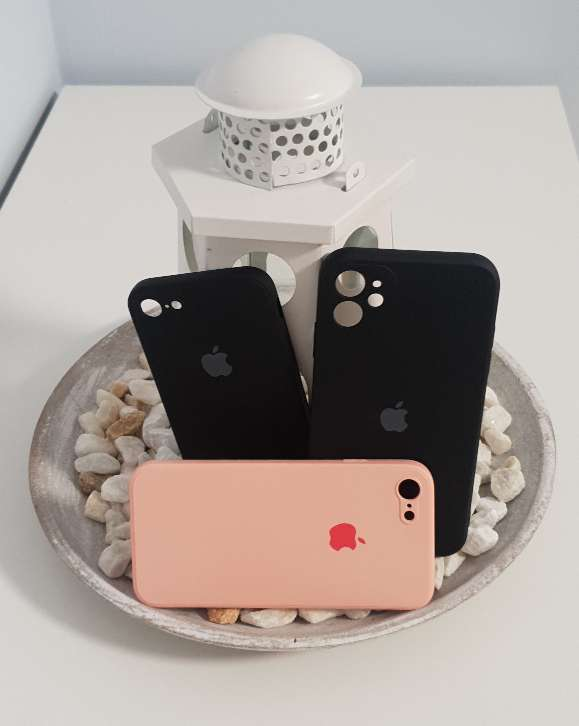 Imagen Funda silicona con correa para iPhone 7 , iPhone 8 y iPhone 11