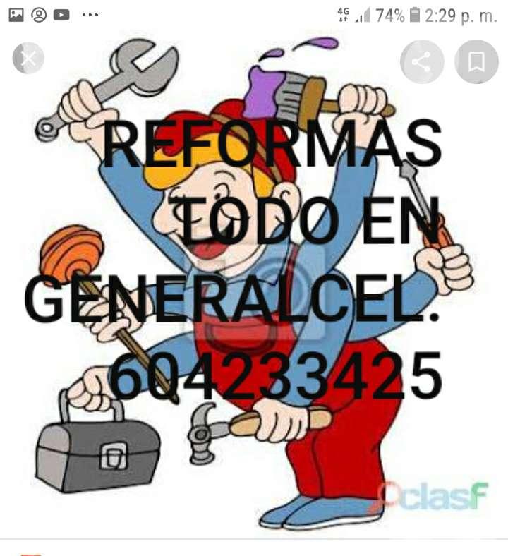 Imagen Reformas en general