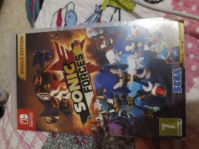 Imagen Sonic forces (bonus edition)