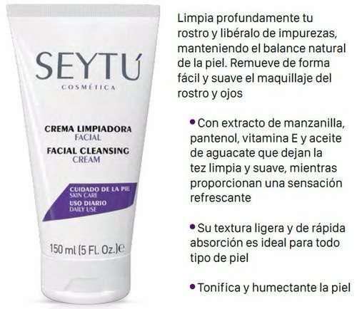 Imagen espuma y crema limpiadora SEYTU