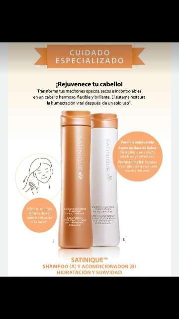 Imagen shampoo hidratante satinique