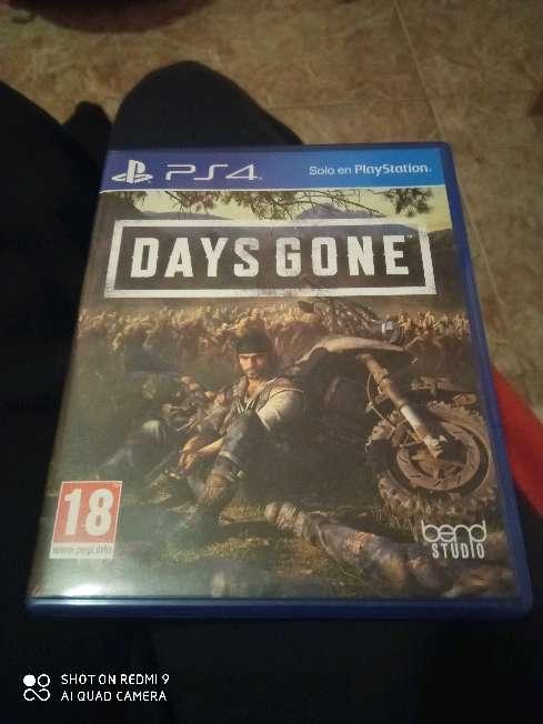 Imagen Days gone. videojuego