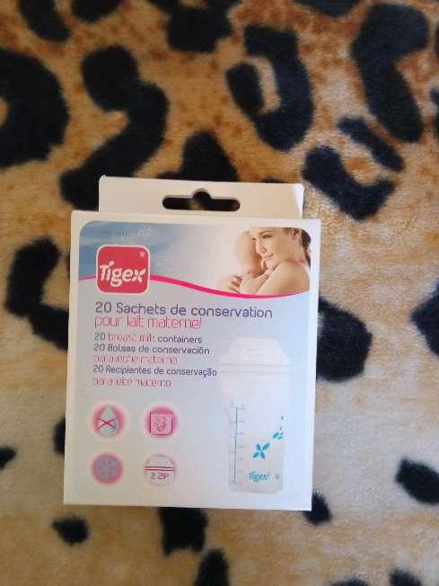 Imagen Caja de bolsitas de almacenar leche